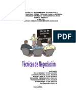 2do Tecnicas de Negociacion