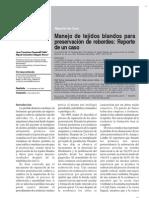 Manejo de Tejidos Blandos Para Preservacion de Rebordes - Reporte de u Caso