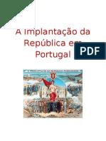A Implantação da república- Catarina 11º E