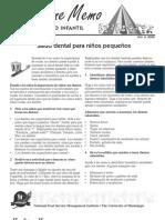 campaña dental preescolar