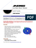 Antares Spacecraft English