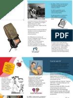 Folleto, Historia de la Radio en Colombia