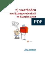 E-Book 15 (on)waarheden over klanttevredenheid en klantloyaliteit