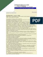 Resolução SMA 07 de 21.01.04 (pbubl. no DO em 23.01.04) Constituição do Conselho Gestor da APA do Tietê