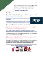 Basel III News June 2011