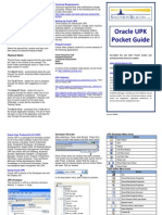 OracleUPKPocketGuide081109