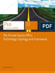 The Private Equity Office Technology Topology and Framework[1]