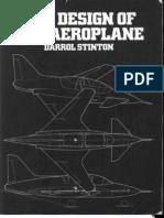 The Design of the Airplane -Darrol Stinton