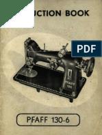 Pfaff 130 Manual