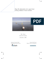 Modeling the Dynamics of a Spar-type Floating Offshorer Wind Turbine_M.sc Thesis