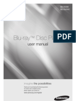Samsung Blu-Ray BD-D5250C Manual