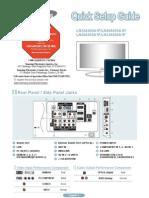 Samsung LN52A650A1F Quick Guide