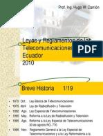 Leyes y Regl. de Tele.-rev2010