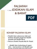 FALSAFAH PENDIDIKAN ISLAM&BARAT