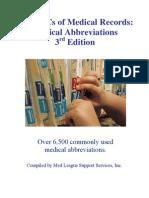 ABC Medical Abbreviations
