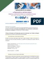 SLKE Campus Virtual - Curso on line de musica - EL MÉTODO KODÁLY, Nivel 1 - [7 créditos]