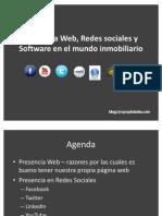 Conferencia en BIOS - Presencia Web, Redes sociales y Software en el mundo Inmobiliario