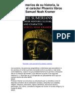 Los sumerios de su historia la cultura y el caráct - 5 estrellas reseña del libro