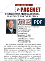 PACE (Pharmaceutical Assistance Contract for the Elderly) in Pennsylvania