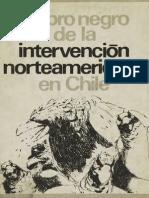Libro Negro la intervención norteamericana  en Chile año 1973.