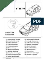Инструкция по монтажу подлокотника на Renault Duster