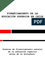 Financiamiento de la Educación Superior