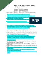 Preguntas Frecuentes Del Impuesto a La Renta 3ra Categoria Estudios Contables