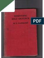 Scientific Self Defence (Defendu) - W.E. Fairbairn 1931