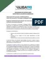 CITEP Programa Formacion Docente
