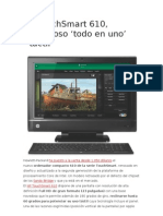 HP TouchSmart 610 Investigación