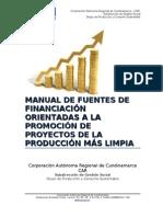 Fuentes de Financiación.