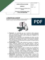 Principios Fundamentales de las normas ISO 9000-2000