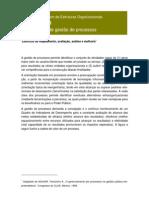Análise de processos e avaliação de resultados