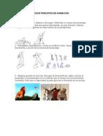 Doce Principios de la Animación