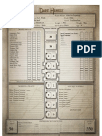 Dark Heresy - Character Sheet Proper