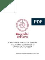 Normativa de Evaluacion Grados