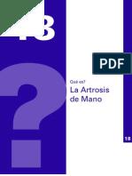 Artrosis de Mano PDF