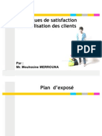 Satisfaction et fidélisation des client Mouhssine MERROUNA