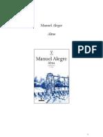 Manuel Alegre - Alma rev