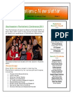 Panhellenic Newsletter 2010-2011