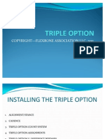 Triple Option Power Point for Flex Bone Association