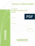 Prova SARESP - 6ª serie