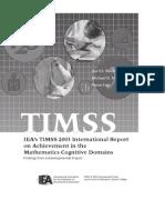 TIMSS 2003 Maths Report