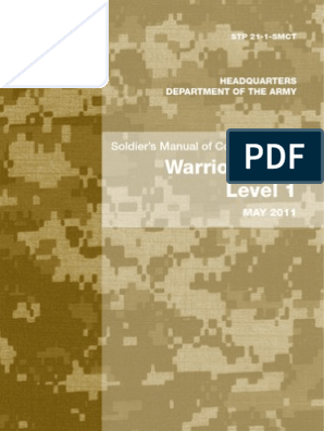 US Army - Soldier's Manual of Common Tasks - Warrior Skills Level 1