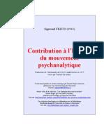Contribution à l'histoire du mouvement psychanalytique