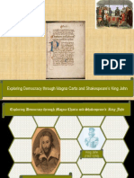 Shakespeare's King John and Magna Carta