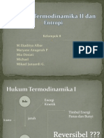 Hukum Termodinamika 2 Dan Entropi