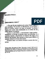 Ricardo Piglia Tesis Sobre El Cuento