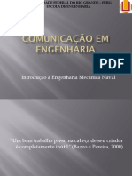 COMUNICAÇÃO EM ENGENHARIA