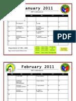 ENT Calendar(Jan July2011)